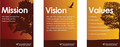 Beacon Health Options Mission, Vision and Values