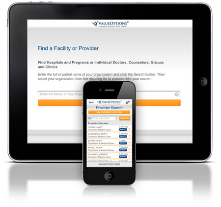 Beacon Health Options iPhone/iPad App